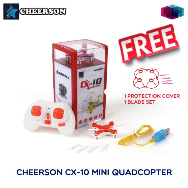 Cheerson CX-10 CX10 Mini RC Quadcopter