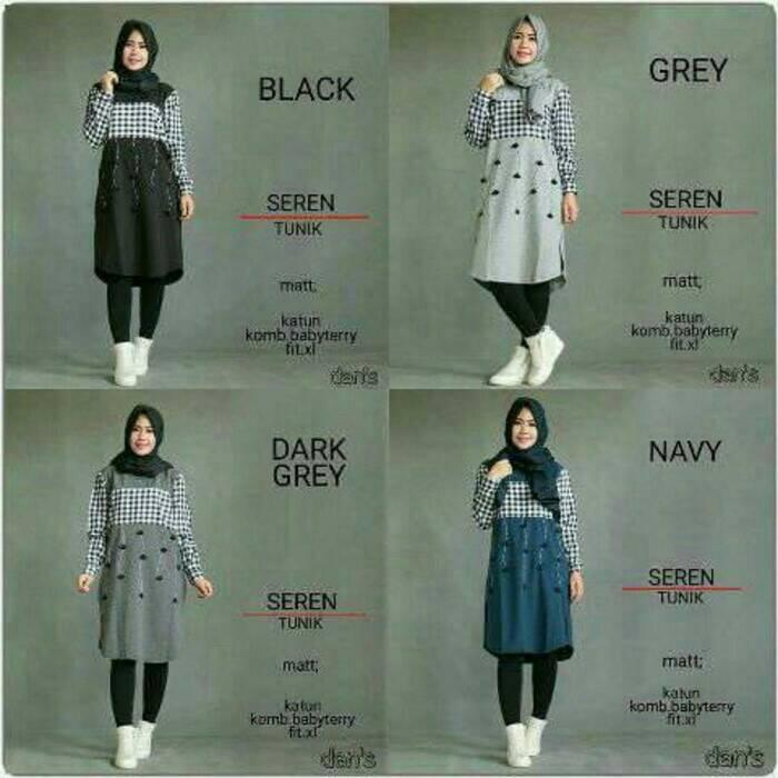 Seren Tunik / baju lucu / baju muslim / hijab ootd / HOTD