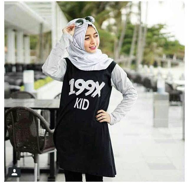 Baju Hijab Murah Raglan Kids