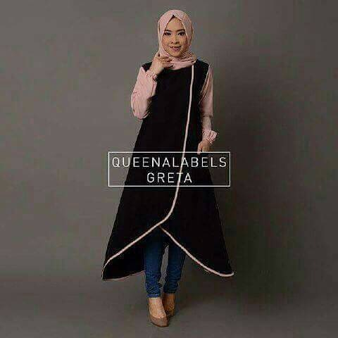 Baju Hijab Murah Quenalabels Dress