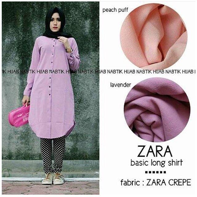 Baju Hijab Murah Zara Nabtik