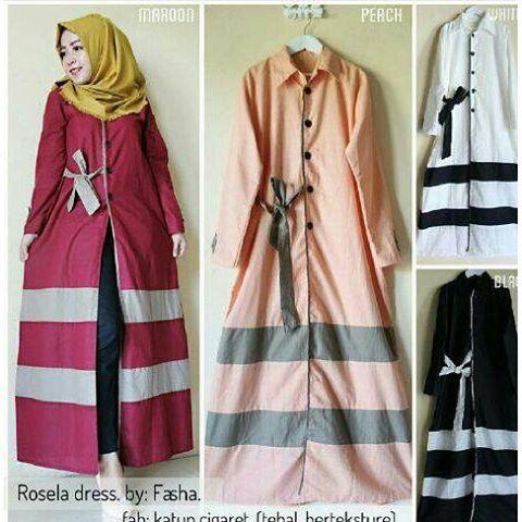 Baju Hijab Murah Rosella