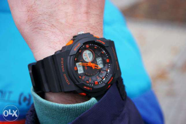 Original Skmei Jam Tangan Anti Air Sporty Outdoor Casual Model Casio