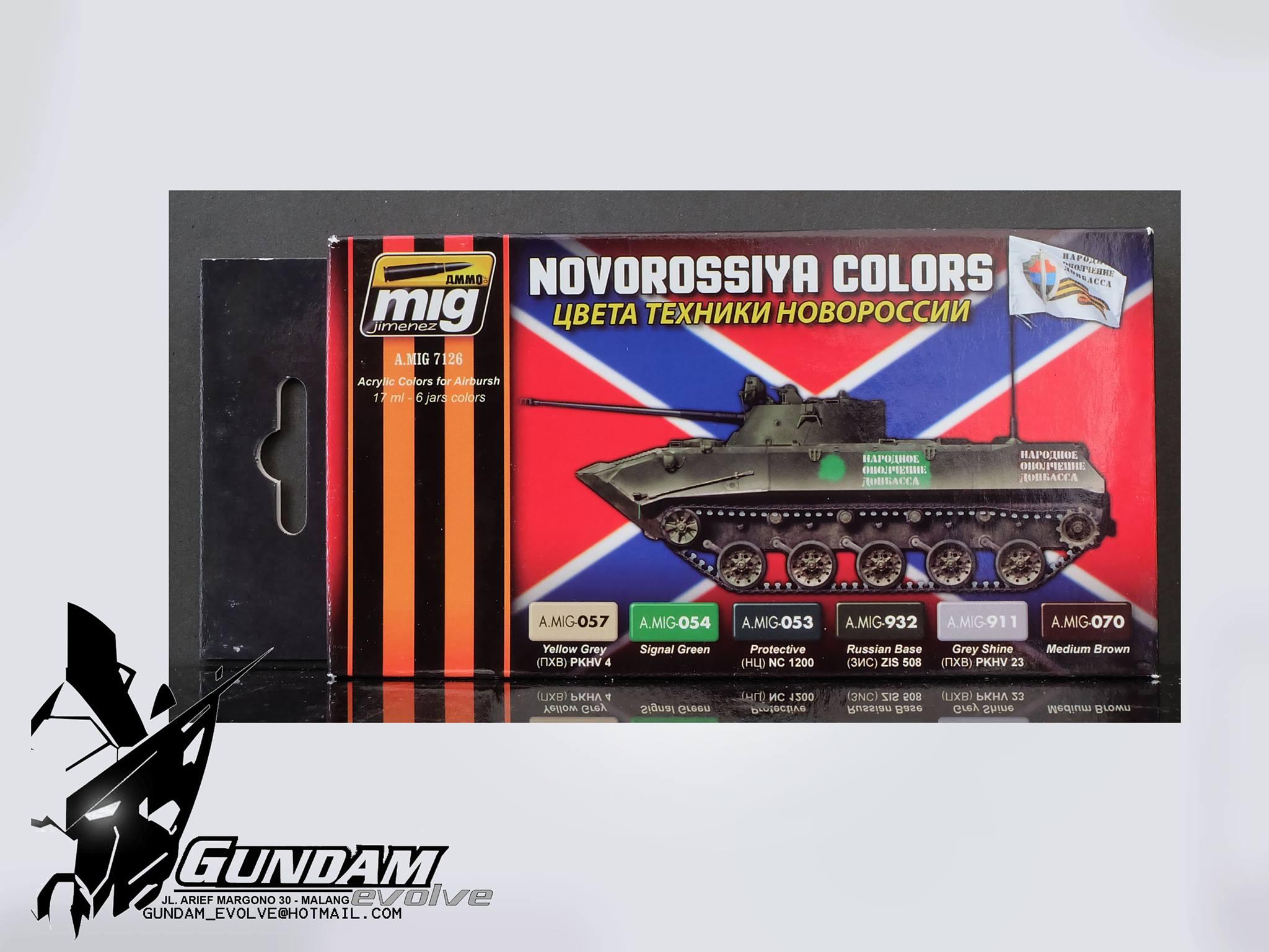 MIG Acrylic Set (6x17ml) : Novorossiya Colors