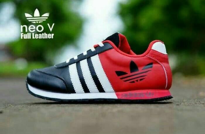 Jual Sepatu Adidas Neo Pria Keren Olahraga Kado Running