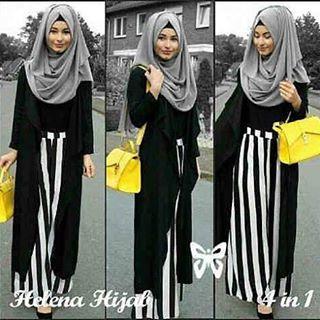 Helena Hijab 4 In 1