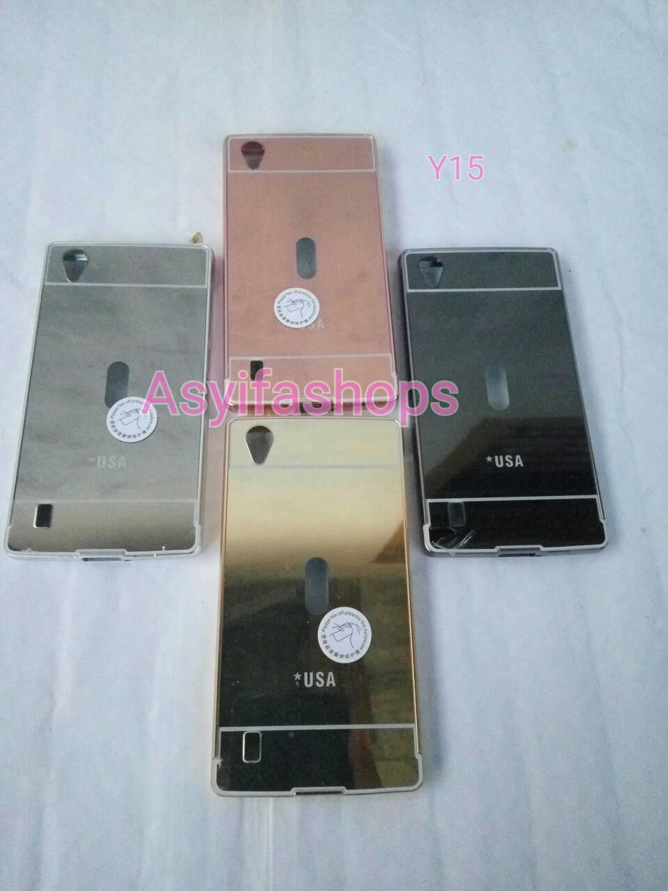 Case Aluminium Bumper Mirror For Vivo Y15 Gold Cari Harga Terbaru Source Jual .