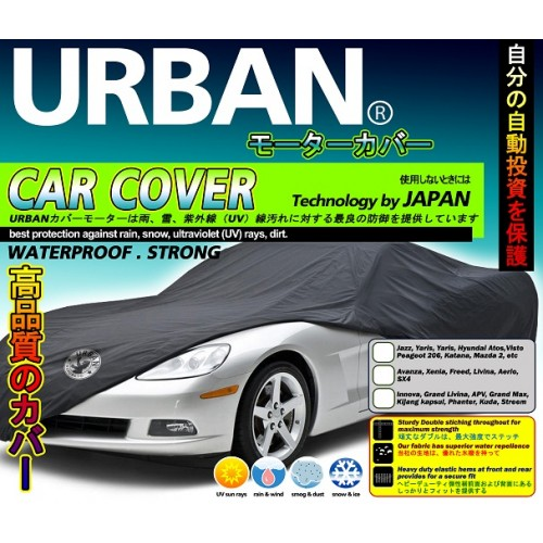 Urban Cover City Car jazz Brio yaris /selimut/sarung/Body Cover