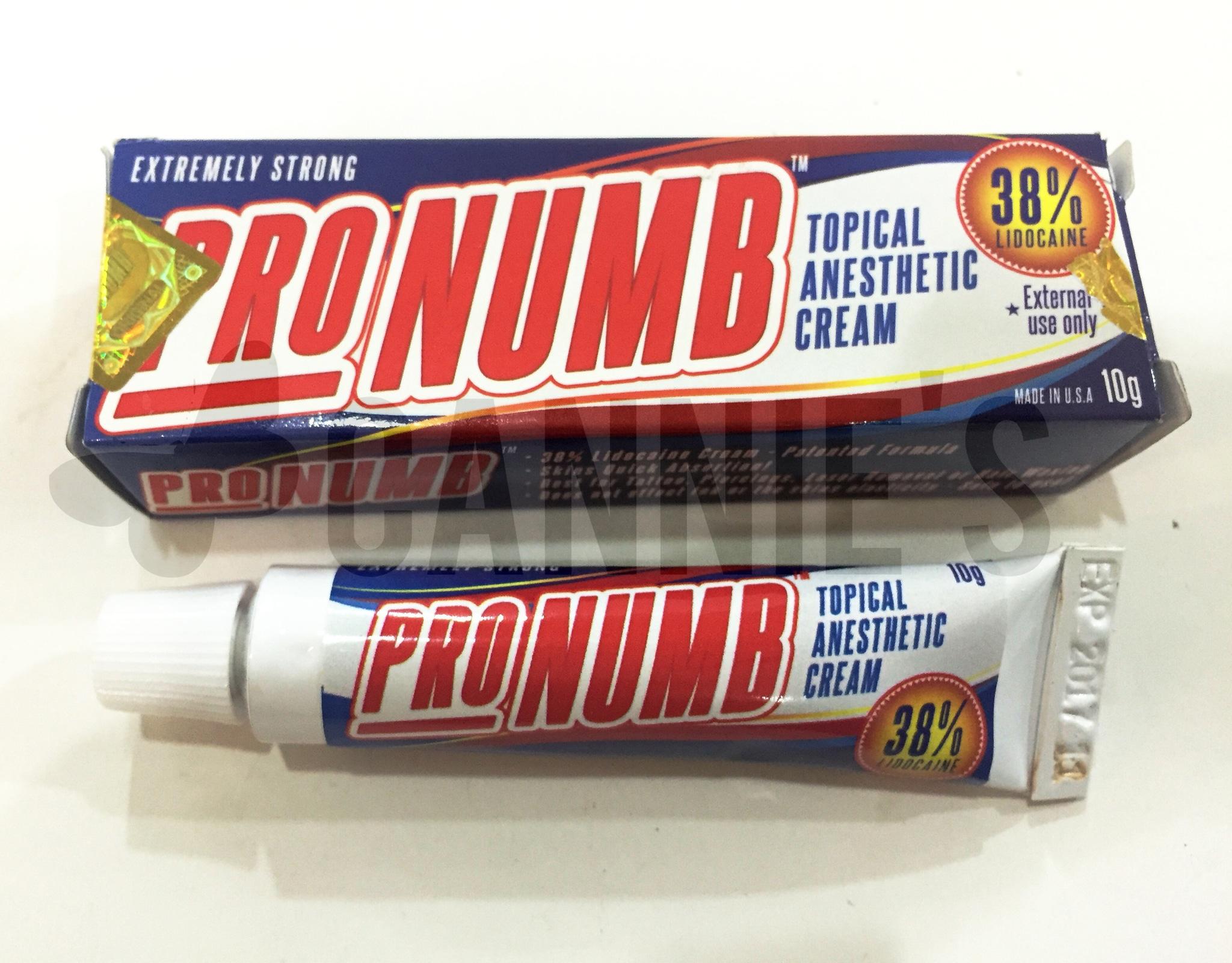 Jual Anastesi Krim Pro Numb Cannies Beauty Supplier Tokopedia Cream Lidocaine