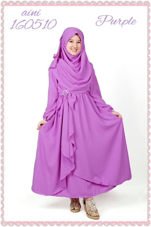 Jual Baju Gamis Bayi Hijab Nemo