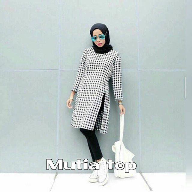 Baju Hijab Murah Mutia Top
