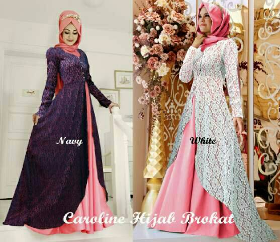 caroline hijab set 3in1