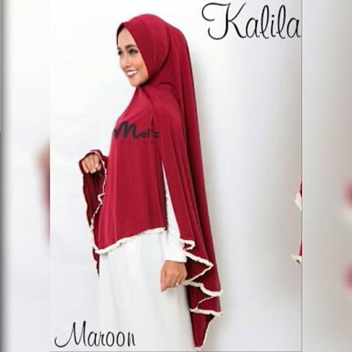 khimar / bergo / hijab /jilbab syari kalila