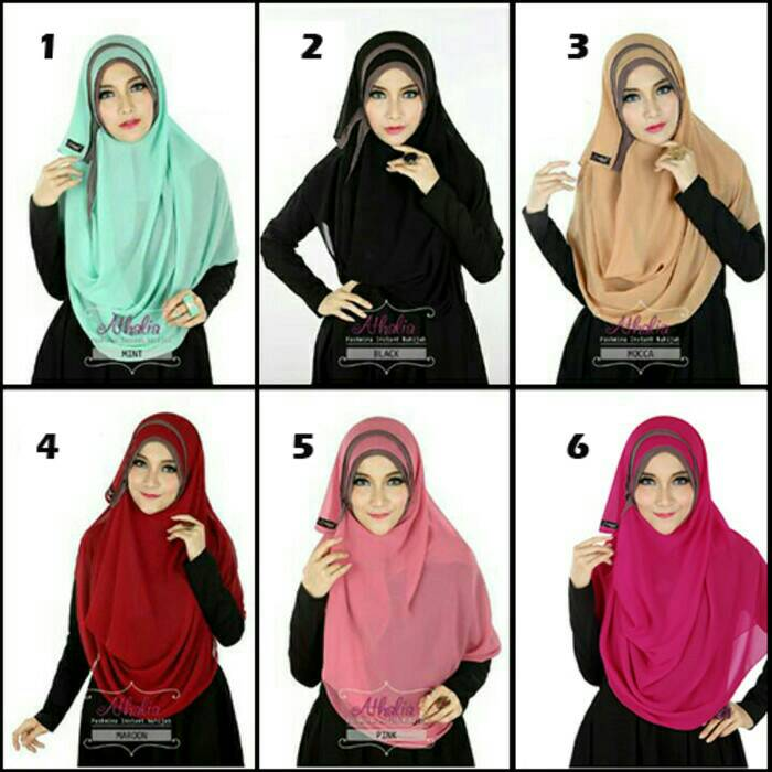 jilbab/hijab/instan pashmina