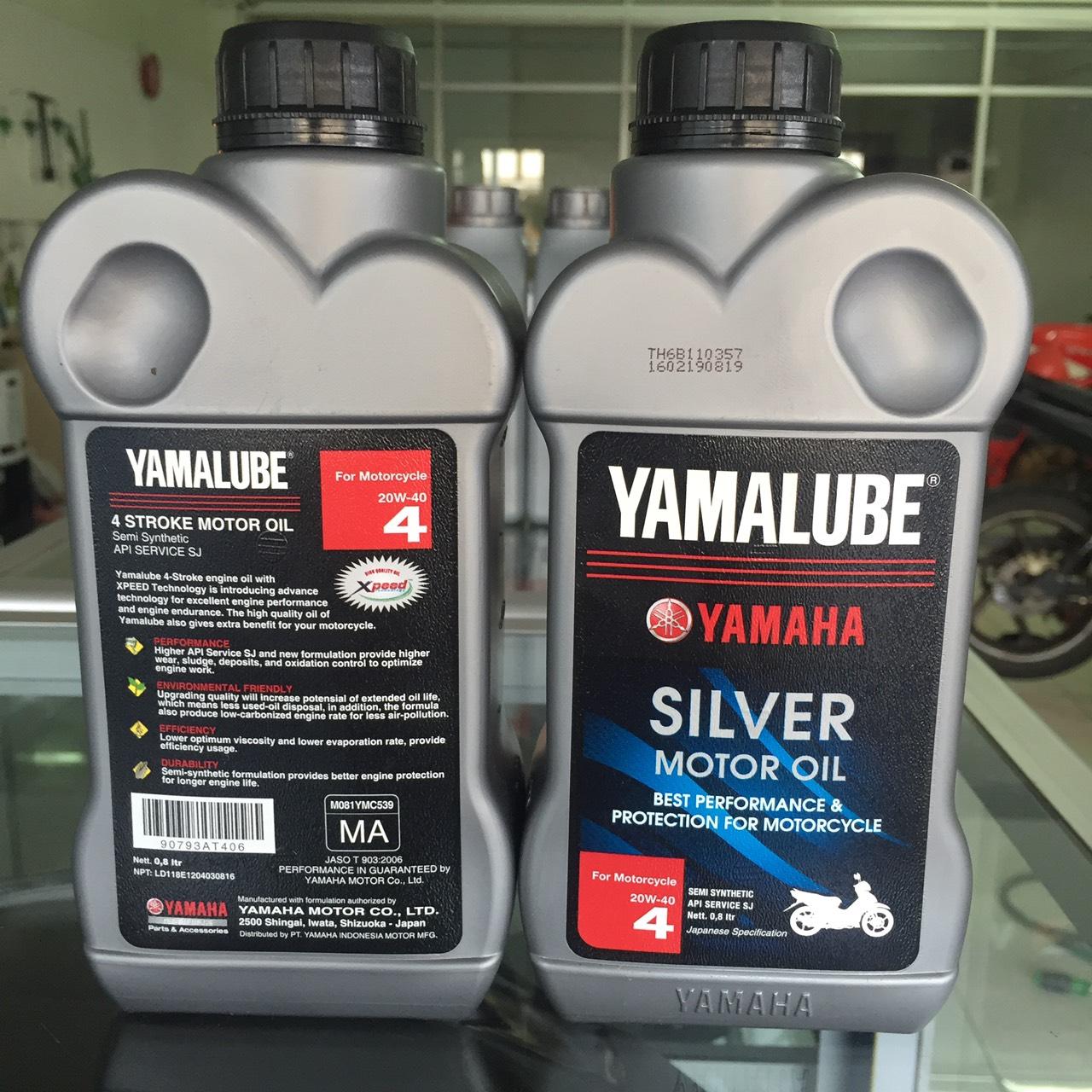 Home Yamalube Xpeed Silver 20w40 Oli Mesin 4 Tak 08l Jual Oli Yamalube Silver 20W 40