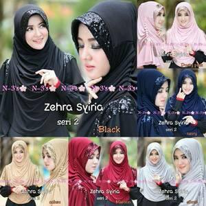 khimar / bergo / hijab /jilbab syari syria zehra