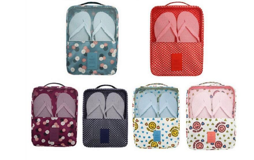 Jual box sepatu, TRAVEL BAG ORGANIZER Korean shoes pouch Tas sepatu travell - The Bryan