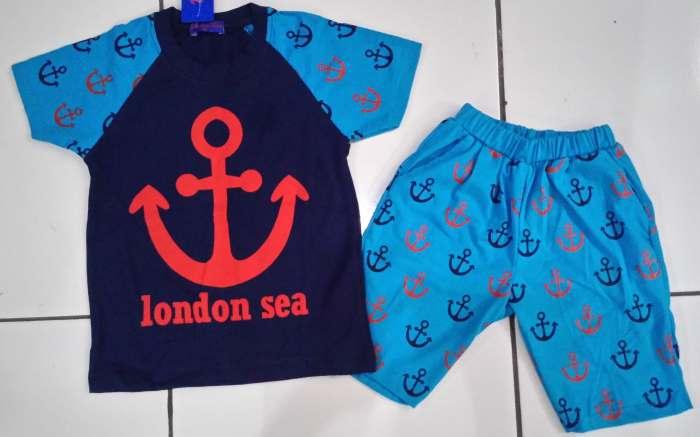 STKDL186 - Setelan Anak Laki Anchor London Sea Murah