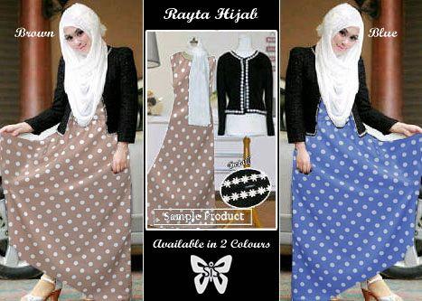 Rayta Hijab (moca, blue)