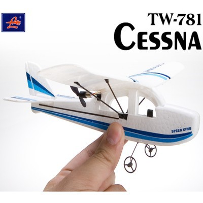Cessna TW-781 Micro MINI Infrared Easy Control Indoor RC EPO