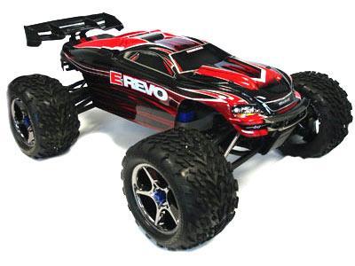 Traxxas E-Revo 1/10 Brushless RTR Monster Truck w/ TQi 2.4GHz