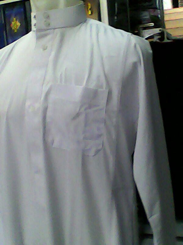 Jual Baju Gamis Jubah Muslim Pria Warna Putih