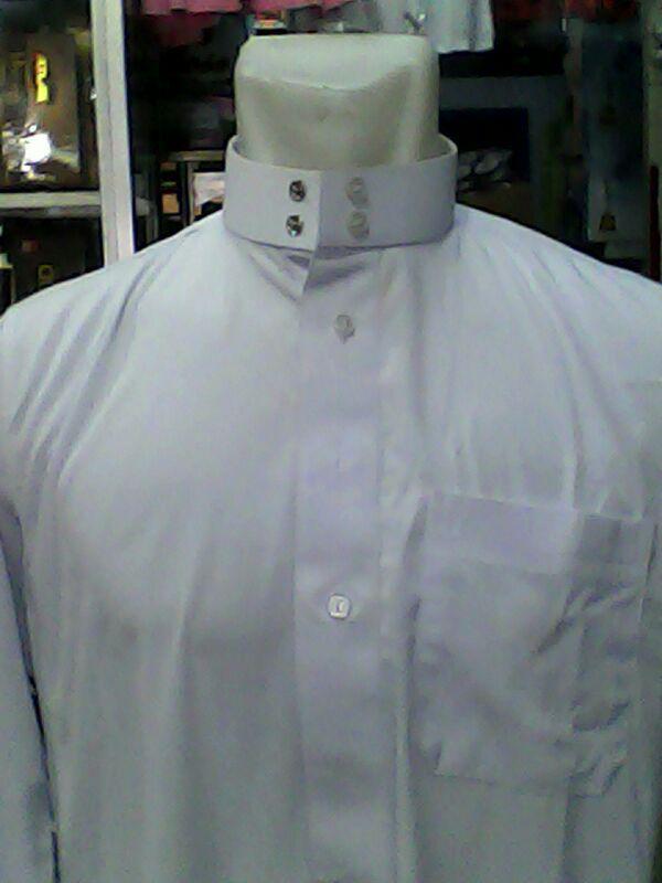Jual Baju Gamis Jubah Muslim Pria Warna Putih Perlengkapan Haji Dan Umroh Zaidan Mall