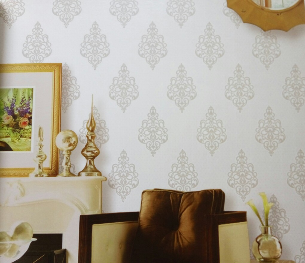 Jual Wallpaper Dinding Motif Batik Aurora Wallpaper Tokopedia