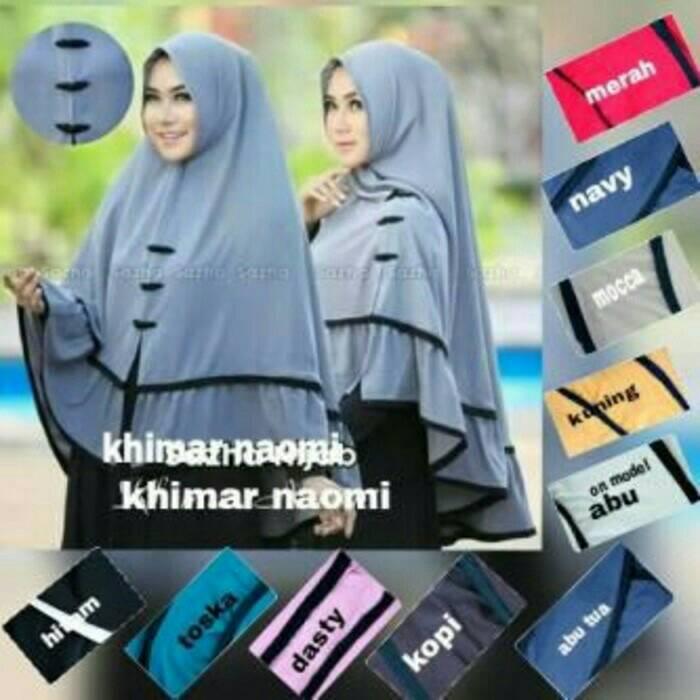 Jilbab Hijab Jilbab Bergo Jilbab Instan Syari Khimar Naomy