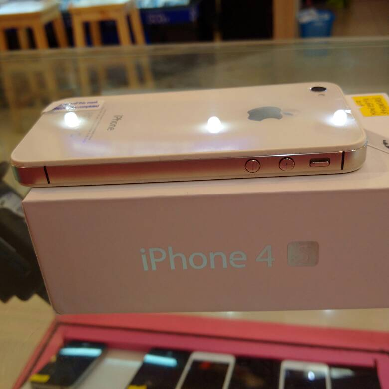 jual apple iphone 4s gsm 16gb fu garansi 1 tahun di