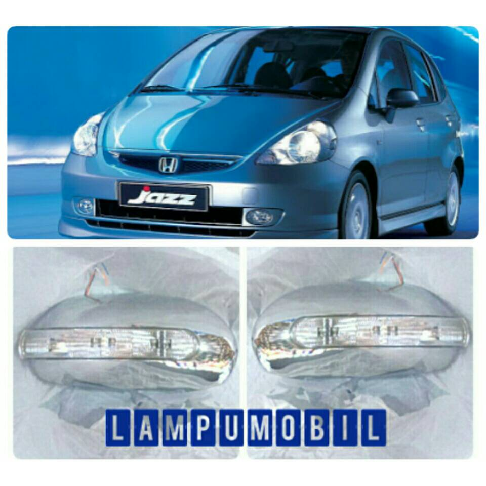 Cover Spion Honda Jazz 2004-2007 with Sign Lamp