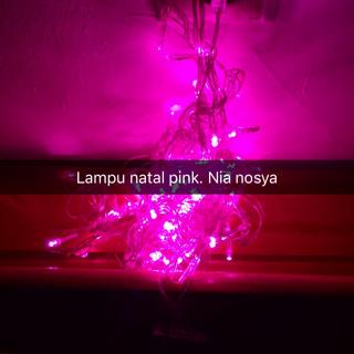 Jual lampu natal tumblr light hiasan pohon cotton ball