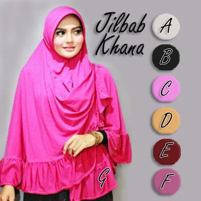 Hijab / Jilbab Instan Jilbab Khana