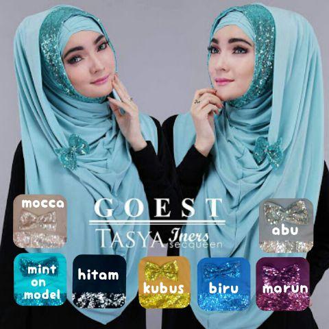 Hijab / Jilbab Instan Hoodie Tasya