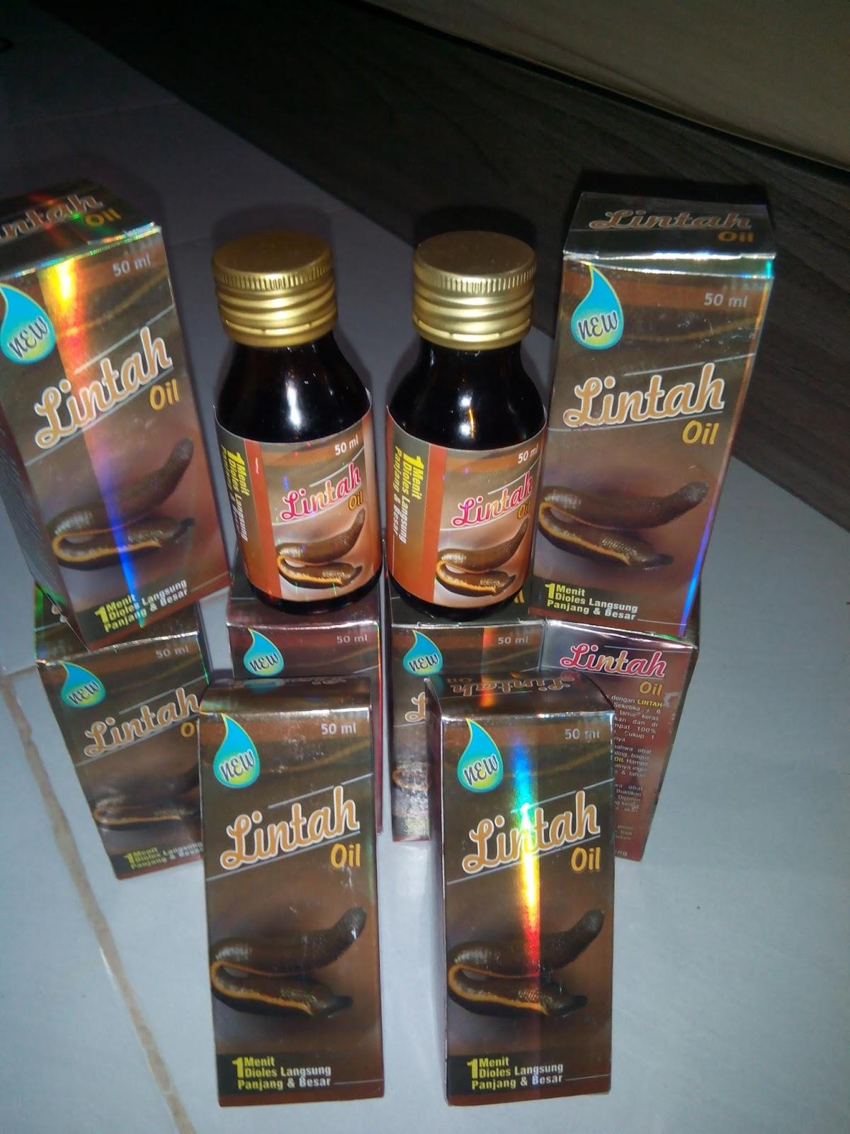 jual original lintah oil minyak lintah asli herbal pria