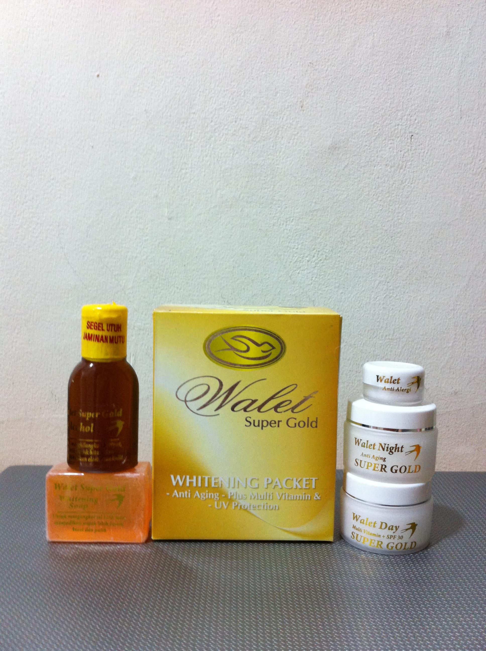 Jual Walet Super Gold Whitening Packet Liemoli Tokopedia Cream