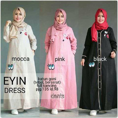 Baju Hijab Murah Eyin Dress