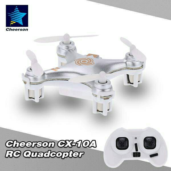 R/C 2.4Ghz nano Quadcopter CX-10A with 6Axis GYRO + Headless Mode