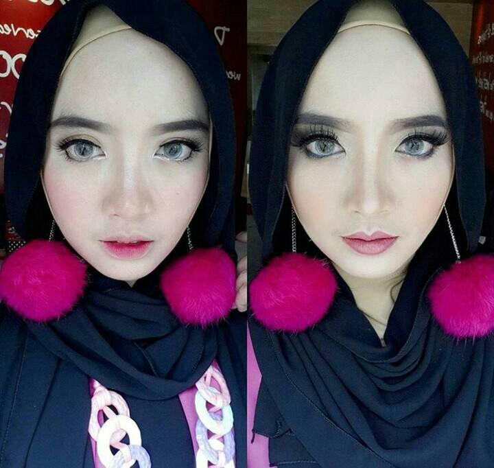 pom pom anting hijab /anting pom pom