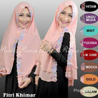 hijab khimar fitri