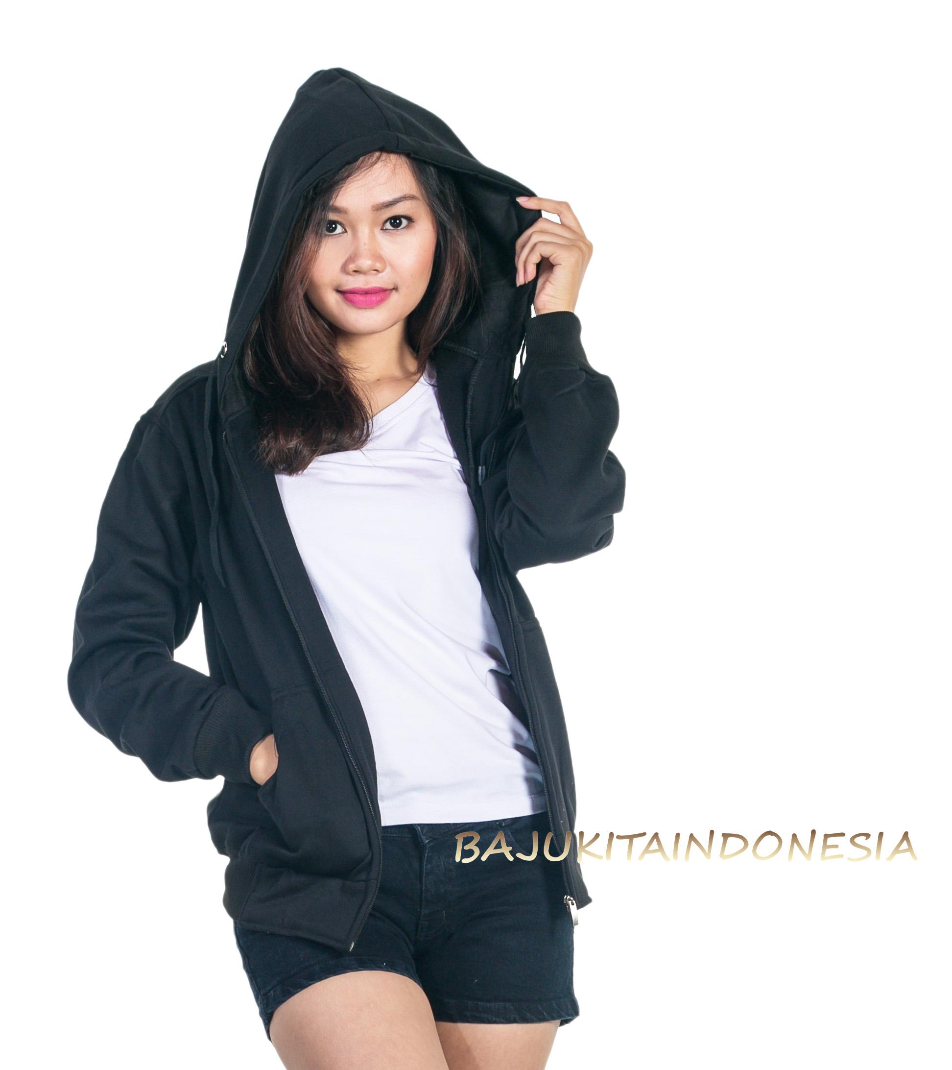 Bajukitaindonesia Jaket Hoodie Jumper Polos Merahmaroon M Xl Source · Jual JAKET HOODIE ZIPPER HITAM WANITA DAN PRIA M XL Novalia Shop