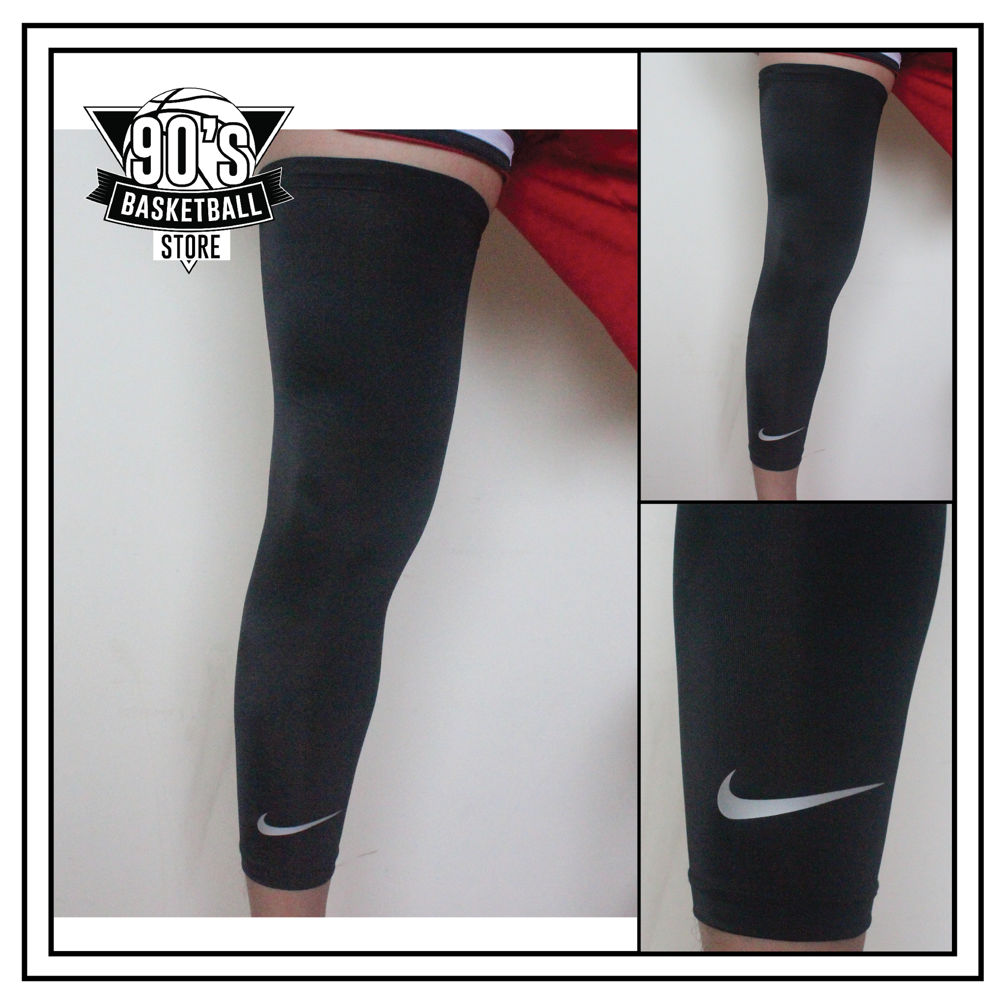 brand new 7dd49 e2e95 basketball leg sleeve nike