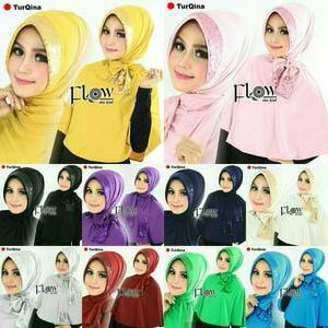 khimar / bergo / hijab / jilbab syari syria turqina sequin