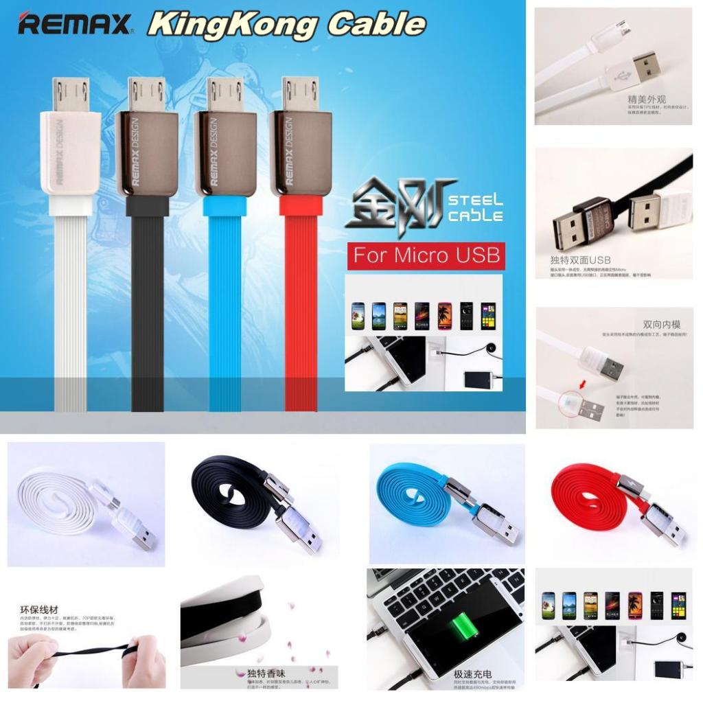 Remax Transformer Kingkong High Speed Kabel Data 2in1 Micro Usb Gold Cable Lightning Speedfast Charge Dataiphone Jual Safe Fast Pro Glass