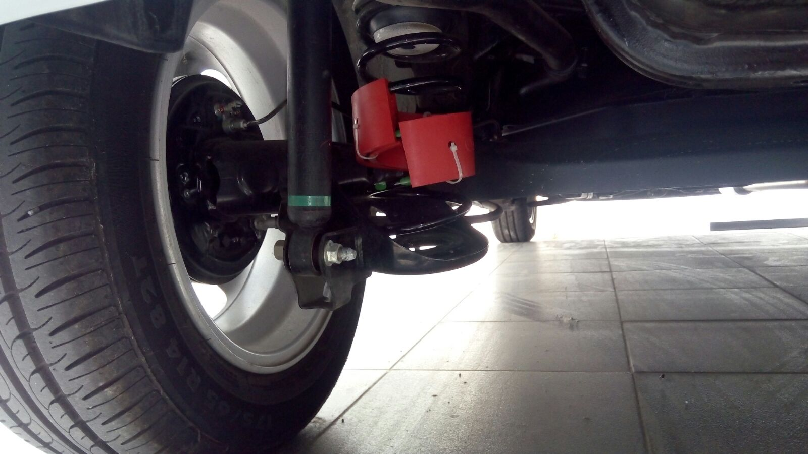 Spring Buffer Honda Jazz Belakang (2013-2015)