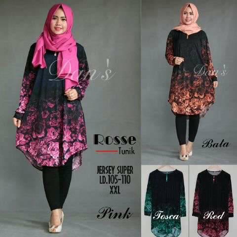 rosse tunik original / supplier baju hijab