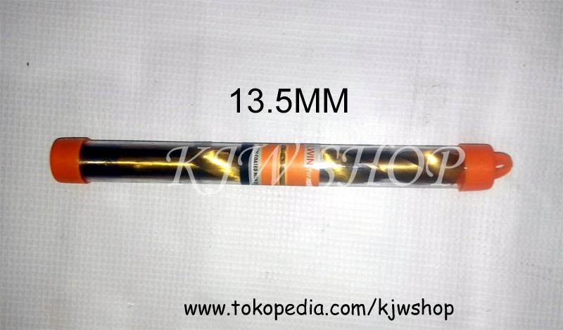 Mata Bor Besi TinCoated Kuningan 13.5mm MURAH