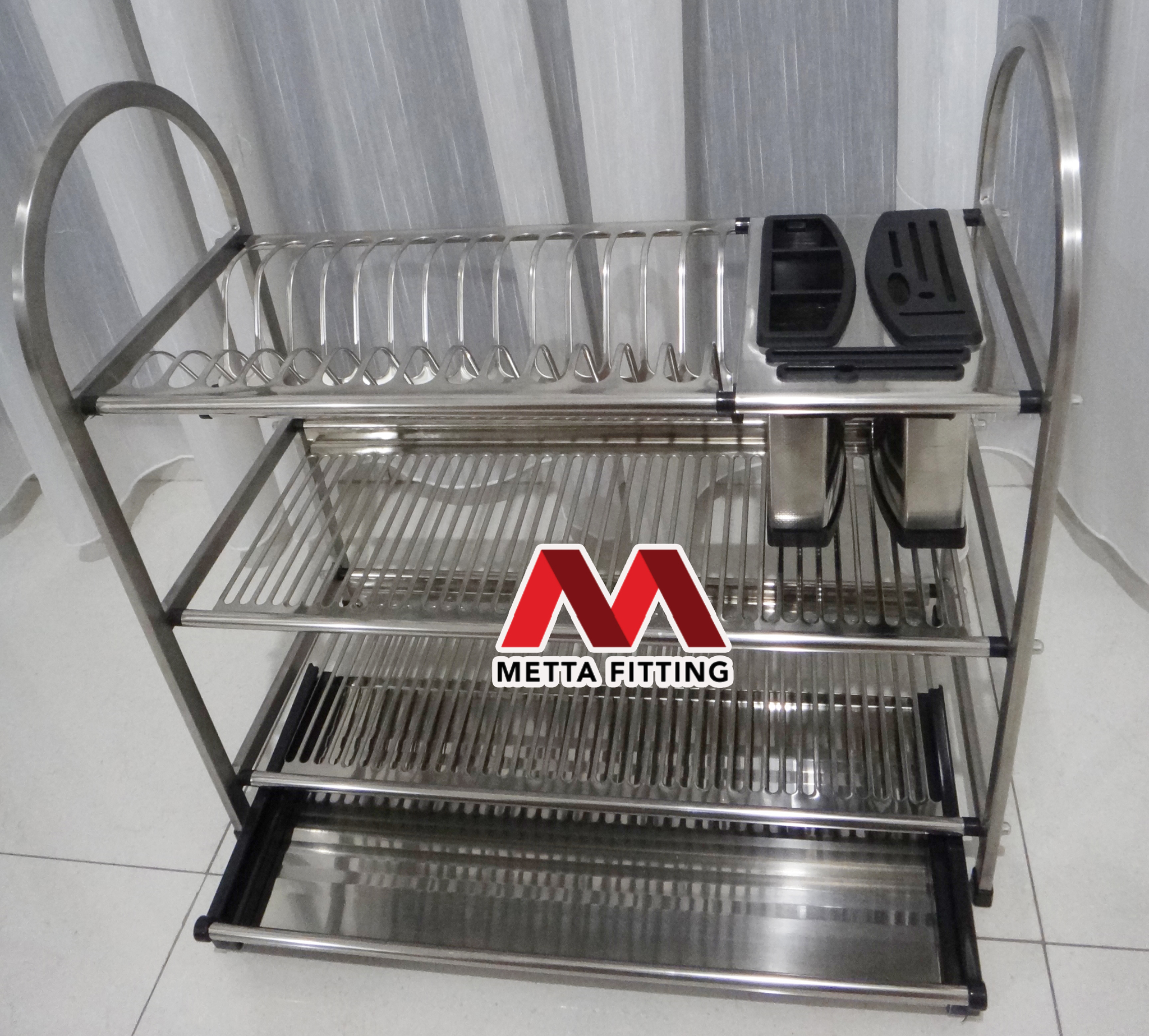 Model Rak Piring Stainless Terbaru