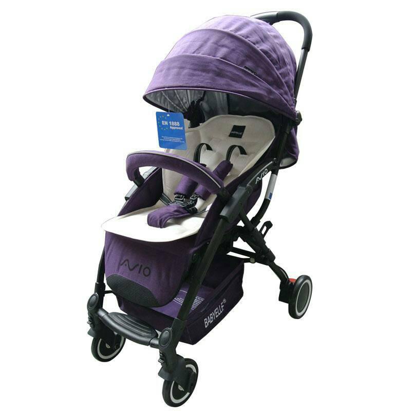 stroller BabyElle Avio 918 Purple Murah