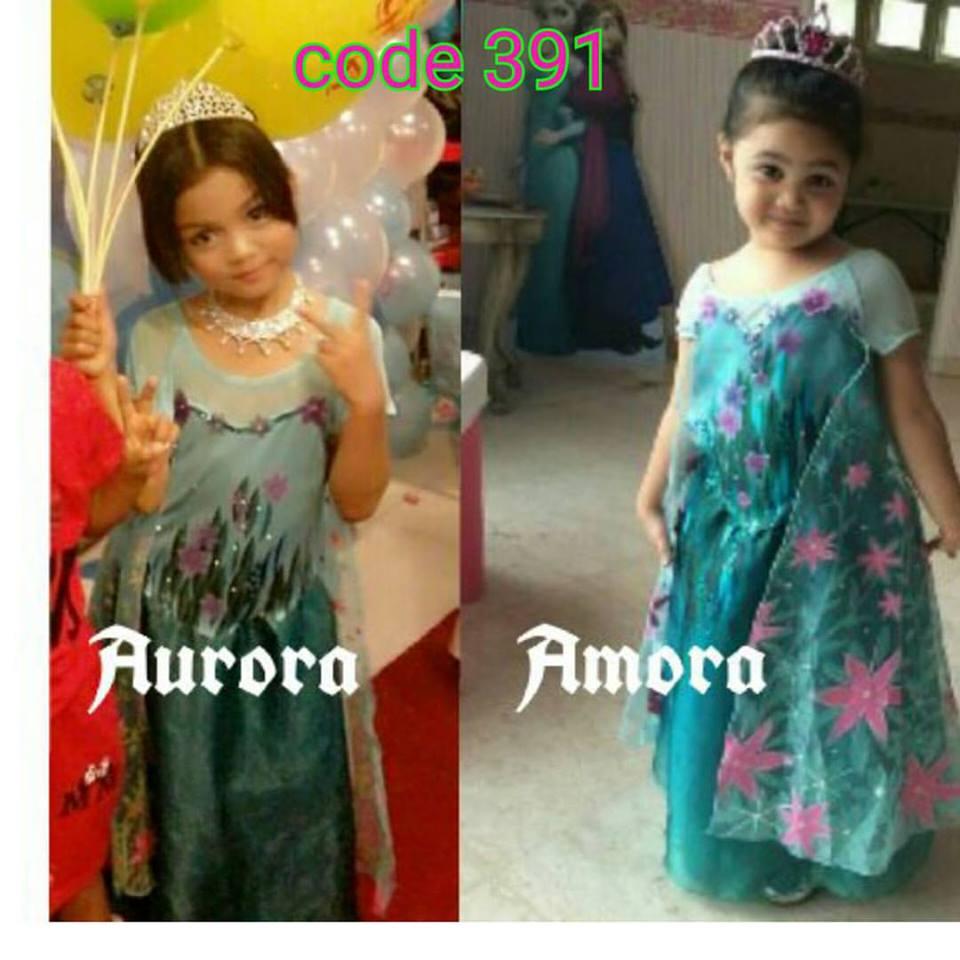 Jual Gaun Frozen Fever Elsa Baju Pesta Anak Import